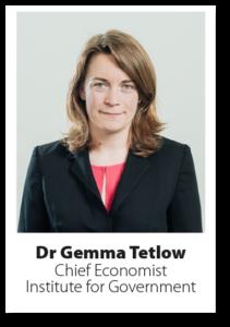 Headshot Dr Gemma Tetlow