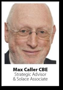 Headshot Max Caller CBE