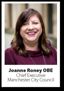 Headshot of Joanne Roney OBE