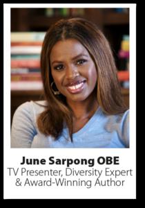 Headshot of June Sarpong OBE