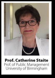 Headshot of Professor Catherine Staite LLB, MBA & FRSA