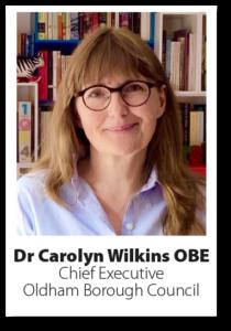 Headshot Dr Carolyn Wilkins
